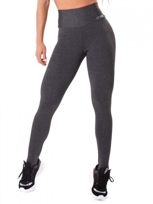 Let's Gym Fitness Move and Slay Leggings - Black