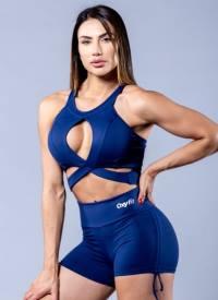 Oxyfit Activewear Sports Bra Top Daring – Navy