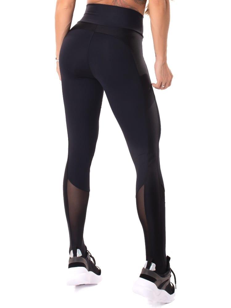 Let's Gym Fitness Delicate Leggings - Black