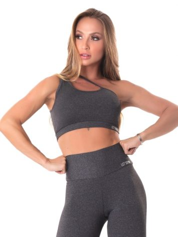 Lets Gym Fitness Move & Slay Sports Bra Top – Black