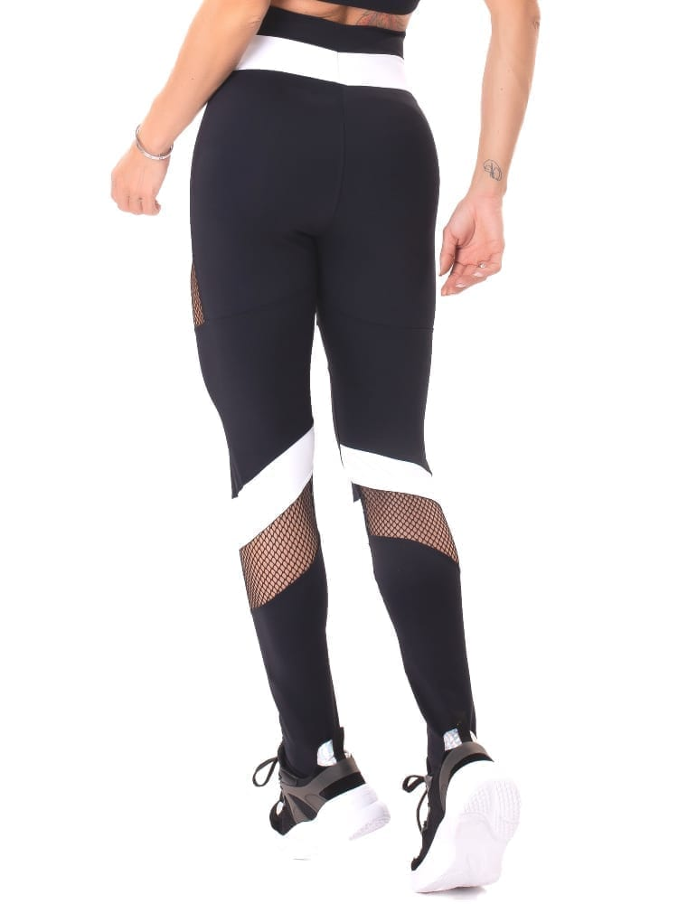 Let's Gym Fitness Intense Woman Leggings - Black