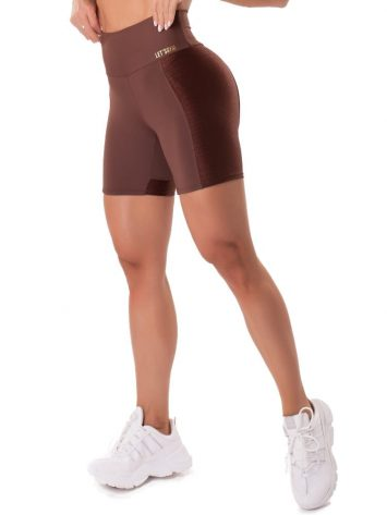 T1Let's Gym Fitness Gorgeous Shorts – Coffee