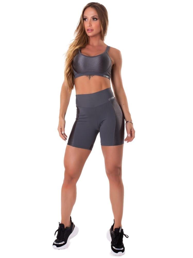 Let's Gym Fitness Gorgeous Shorts - Grafitti