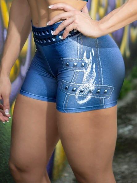 DYNAMITE BRAZIL Shorts SH400 - Velvet Blue