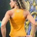 DYNAMITE BRAZIL Tank Top Regatta Motivation - Yellow