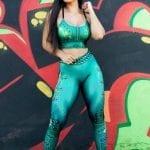 DYNAMITE BRAZIL Leggings Million Dollar Secret - Lime-Green