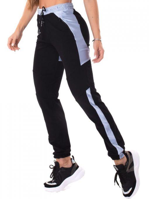 Let's Gym Fitness Sweet Jogger Pants - Black/Blue