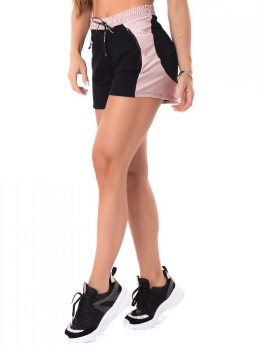 Let's Gym Fitness Sweet Glow Shorts - Black/Rose