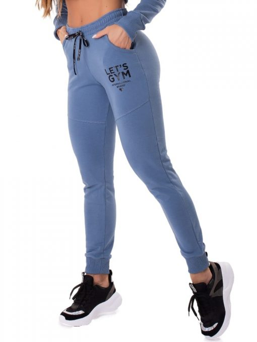 Let's Gym Fitness International Jogger Pants - Blue