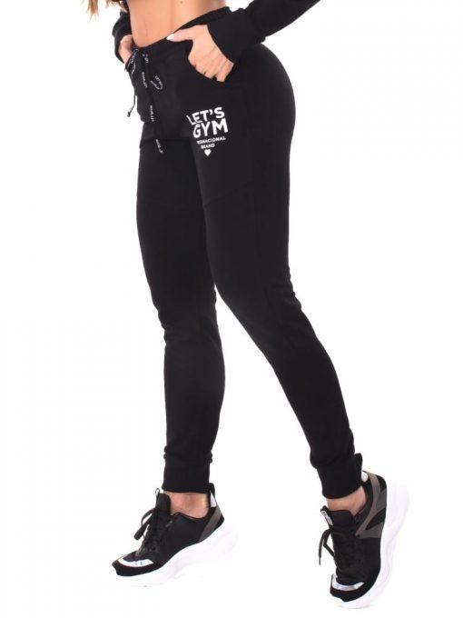 Let's Gym Fitness International Jogger Pants - Black