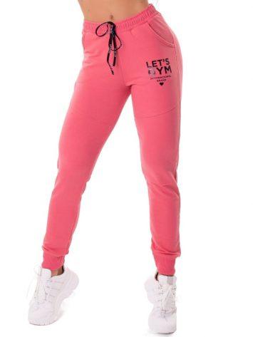 Let's Gym Fitness International Jogger Pants – Guave Pink