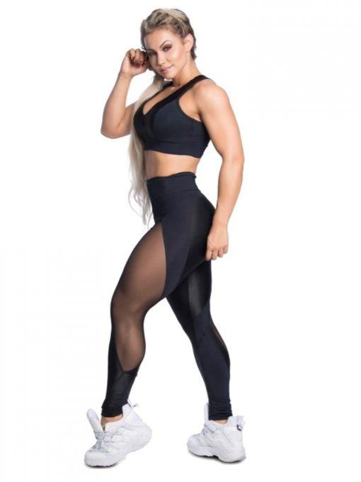 Trincks Fitness Activewear Leggings Sweet - Black
