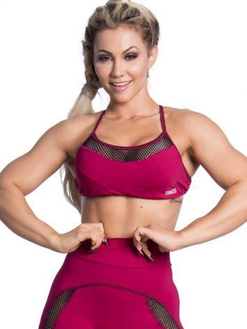 Trincks Fitness Activewear Street Sports Bra Top – Marsala