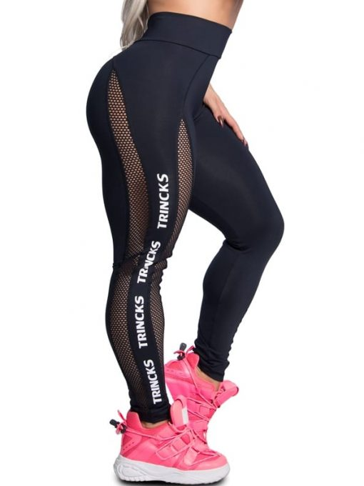 Trincks Fitness Activewear Leggings Street - Black