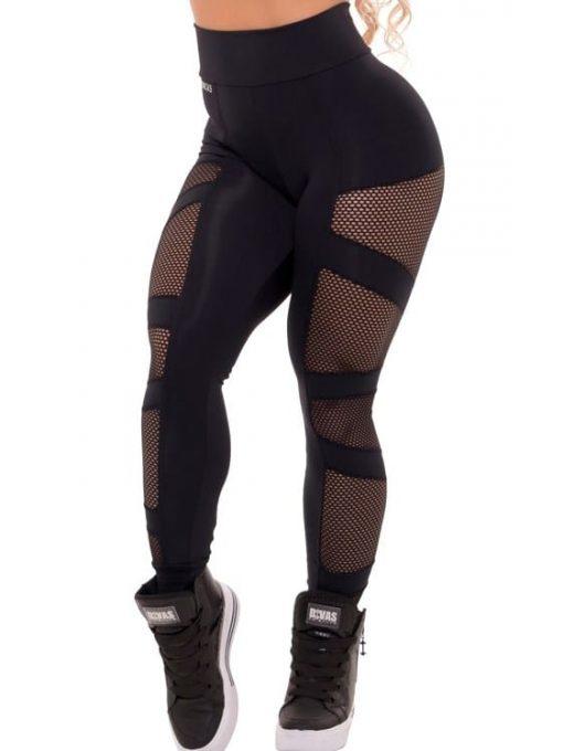 Trincks Fitness Activewear Power Legging - Black