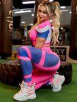 Trincks Fitness Activewear Power Legging - Power Pink