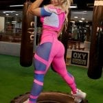 Trincks Fitness Activewear Gym Cropped - Pink