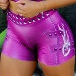 DYNAMITE BRAZIL Purple Rain Shorts - Purple