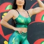 Dynamite Brazil Million Dollar Secret Sports Bra Top - Lime-Green