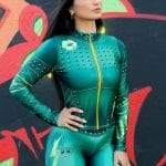 DYNAMITE BRAZIL Jacket - Million Dollar Secret - Lime-Green