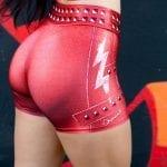 DYNAMITE BRAZIL Cinnamon Girl Shorts - Red