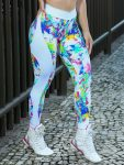 DYNAMITE Brazil Leggings Apple Booty - Psychedelic