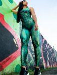 Dynamite Brazil Jumpsuit Macacao - Million Dollar Secret - Lime-Green