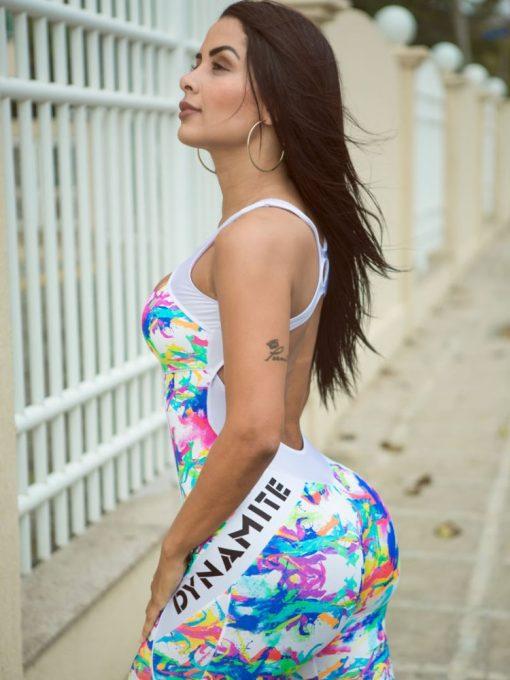 DYNAMITE BRAZIL Jumpsuit Psychedelic - Psychedelic