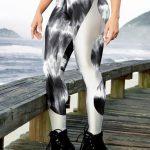 DYNAMITE Brazil Leggings Apple Booty - Marble Silver