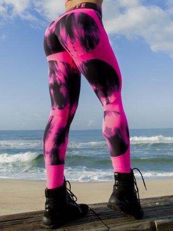 DYNAMITE Brazil Leggings Apple Booty – Marble Pink