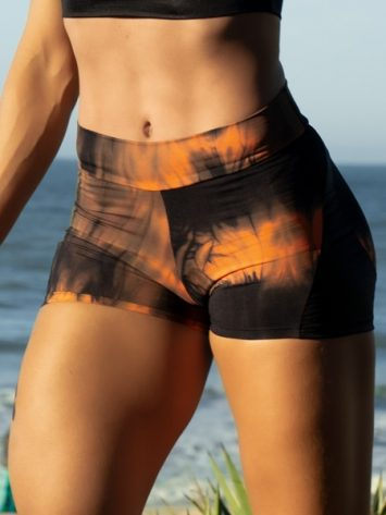 DYNAMITE BRAZIL Shorts Apple Booty Shorts – Marble Coral