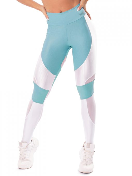 Let's Gym Fitness Lover Leggings - Blue
