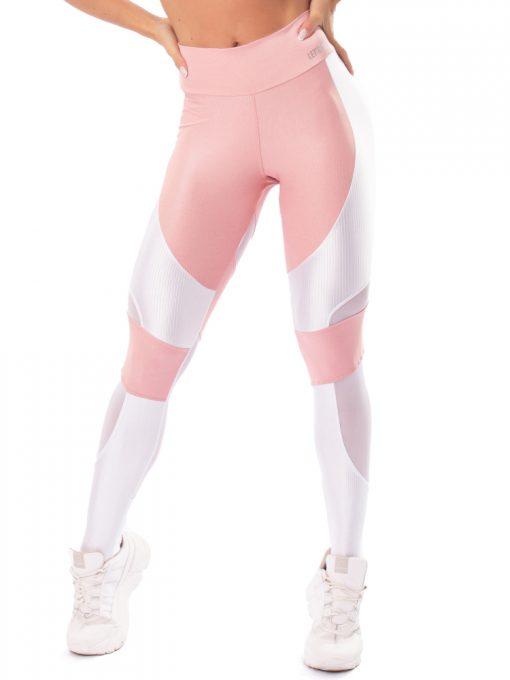 Let's Gym Fitness Lover Leggings - Rose