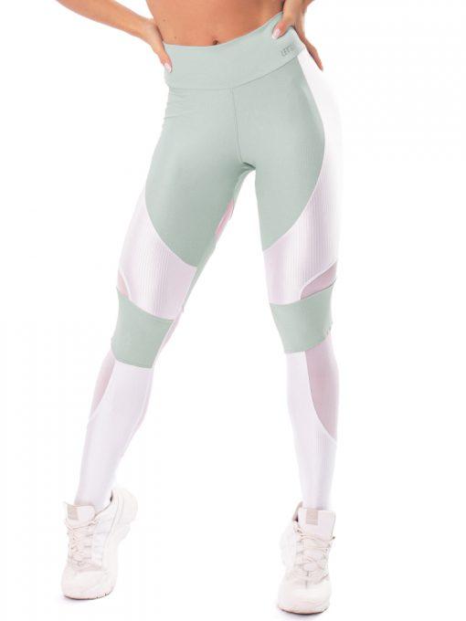 Let's Gym Fitness Lover Leggings - Green