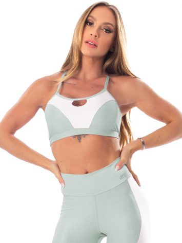 Lets Gym Fitness Lover Sports Bra Top – Green