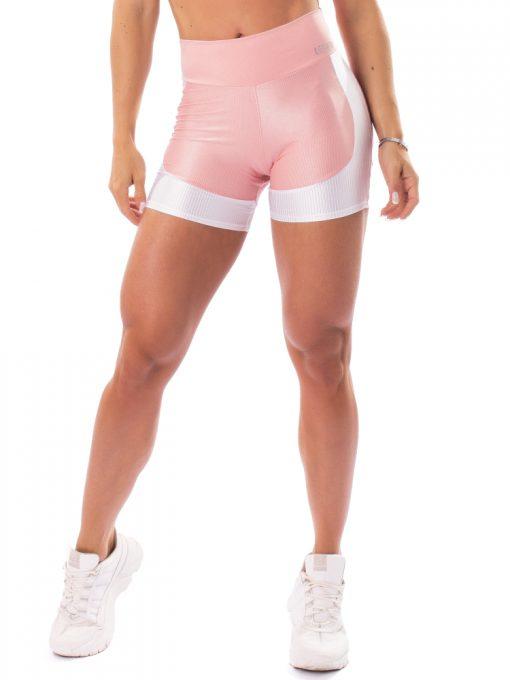 Let's Gym Fitness Lover Shorts - Rose