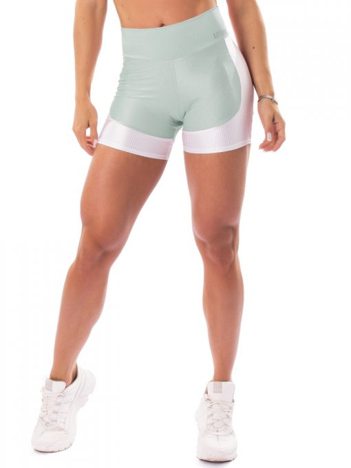 Let's Gym Fitness Lover Shorts - Green