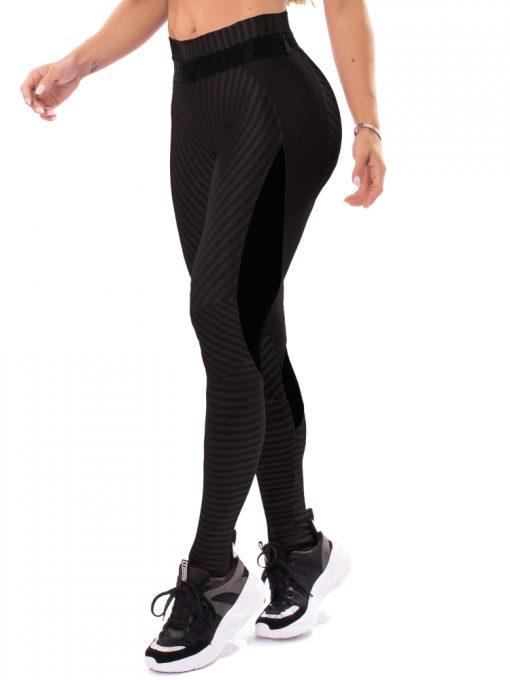 Let's Gym Fitness Winner Leggings - Black