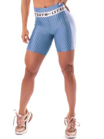 Let's Gym Fitness Winner Shorts – Blue