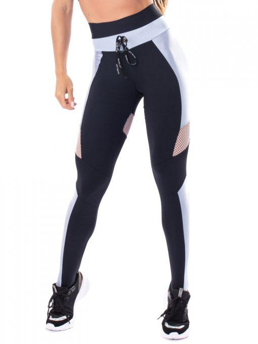 Let's Gym Fitness Fusion Leggings - Black