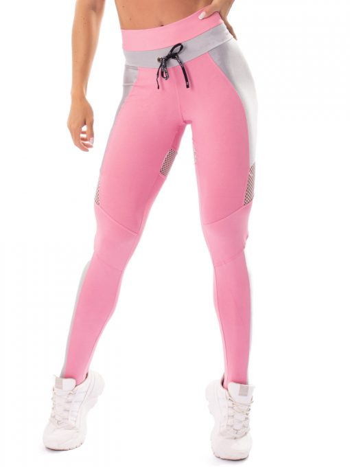 Let's Gym Fitness Fusion Leggings - Pink