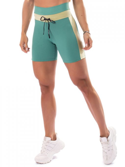Let's Gym Fitness Fusion Shorts - Mint