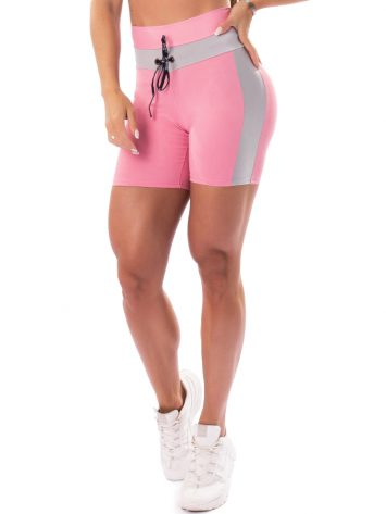 Let's Gym Fitness Fusion Shorts – Pink