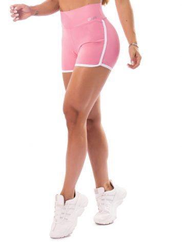 Let's Gym Fitness Boss Lady Shorts – Pink