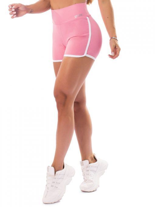 Let's Gym Fitness Boss Lady Shorts - Pink