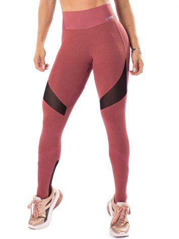 Let's Gym Fitness Repected Leggings – Blush