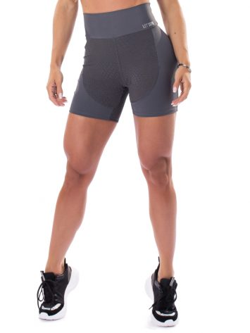 Let's Gym Fitness Respected Shorts – Graphite