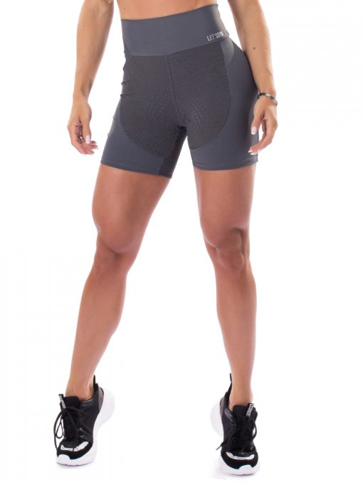 Let's Gym Fitness Respected Shorts - Graphite