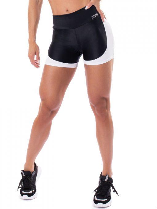 Let's Gym Fitness Glowing Secret Shorts - Black