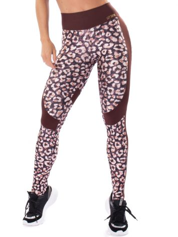Let's Gym Fitness Instincts Leggings – Coffee